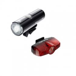 Cateye Volt 200 en 7 Rapid Mini voor- en achterlicht (set) – Fietslampen (setjes)
