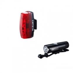 Cateye Volt 80 XC / Rapid Micro voor- en achterlicht (set) – Fietslampen (setjes)