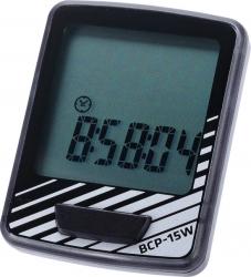 BCP-15W fietscomputer DashBoard 10-functies zwart/zilver