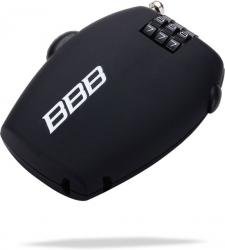BBB BBL-53 Fietsslot MiniCase Coil Cable Zwart