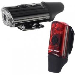 LifeLine USB Safety voor- en achterlicht (set) – Fietslampen (setjes)